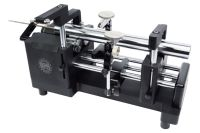 Rundlaufprüfgerät SIMMY DS m. verschiebbarem Rollenbock für  Ø 1,5 mm - 50 mm