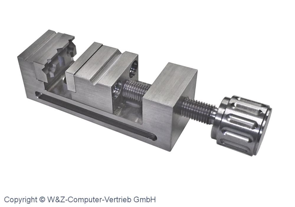 Mini- Schraubstock Größe 3 INOX 100 mm x 35 mm x 35 mm ...