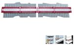 Konturenlehre - Profilabtaster 400 mm lang Messbereich bis 400 mm
